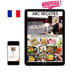 NOUVEAU : ABC RECETTES HEALTHY