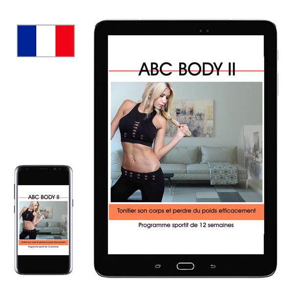 ABC BODY II - programme fitness nutrition bien mangé